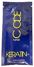 Parfumuri și produse cosmetice Mască de păr - Stapiz Keratin Code Mask (mostră)