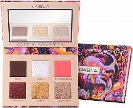 Parfumuri și produse cosmetice Paletă fard de pleoape - Nabla Cutie Collection Palette Metropolitan