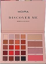 Parfumuri și produse cosmetice Paletă de machiaj - Moira Discover Me Destiny Eye & Face Palette