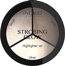 Parfumuri și produse cosmetice Paletă de iluminatoare - Ingrid Cosmetics Strobing Glow Palette