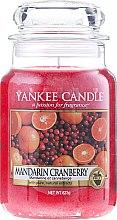 """Parfumuri și produse cosmetice Lumânare parfumată """"Mandarin și afine"""" - Yankee Candle Mandarin Cranberry"""