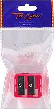 Parfumuri și produse cosmetice Ascuțitoare dublă pentru creioane, 2199, roșie - Top Choice