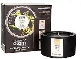 Parfumuri și produse cosmetice Lumânare parfumată - House of Glam Oak Moss Sage Candle