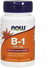 """Parfumuri și produse cosmetice Vitamina B1 """"Tiamina"""", 100 mg - Now Foods Vitamin B1 Tiamin"""