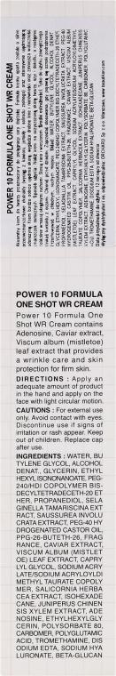 Cremă anti-îmbătrânire pentru față - It's Skin Power 10 Formula One Shot WR Cream — Imagine N3