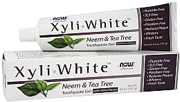 """Parfumuri și produse cosmetice Pastă-gel de dinți """"Neem și arbore de ceai"""" - Now Foods XyliWhite Neem & Tea Tree Toothpaste Gel"""