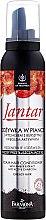 Parfumuri și produse cosmetice Spumă pentru păr gras cu cărbune activ și extract de chihlimbar - Farmona Jantar
