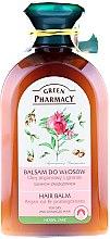 """Parfumuri și produse cosmetice Balsam pentru părul uscat și deteriorat """"Ulei de argan și rodie"""" - Green Pharmacy"""