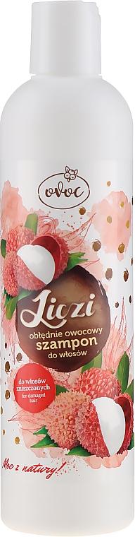 Șampon de păr cu extract de litchi și mango - Ovoc Liczi Szampon — Imagine N1