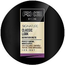 Parfumuri și produse cosmetice Pastă pentru styling - Axe Signature Classic Look Definition Wax