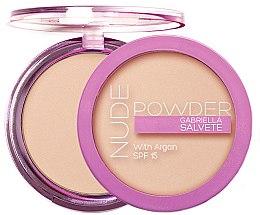Parfumuri și produse cosmetice Pudră de față - Gabriella Salvete Nude Powder SPF15