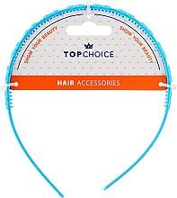 Parfumuri și produse cosmetice Cordeluță de păr, 27918, albastră - Top Chice