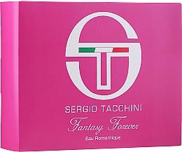 Parfumuri și produse cosmetice Sergio Tacchini Fantasy Forever Eau Romantique - Set (edt/50ml + bag/1pc)