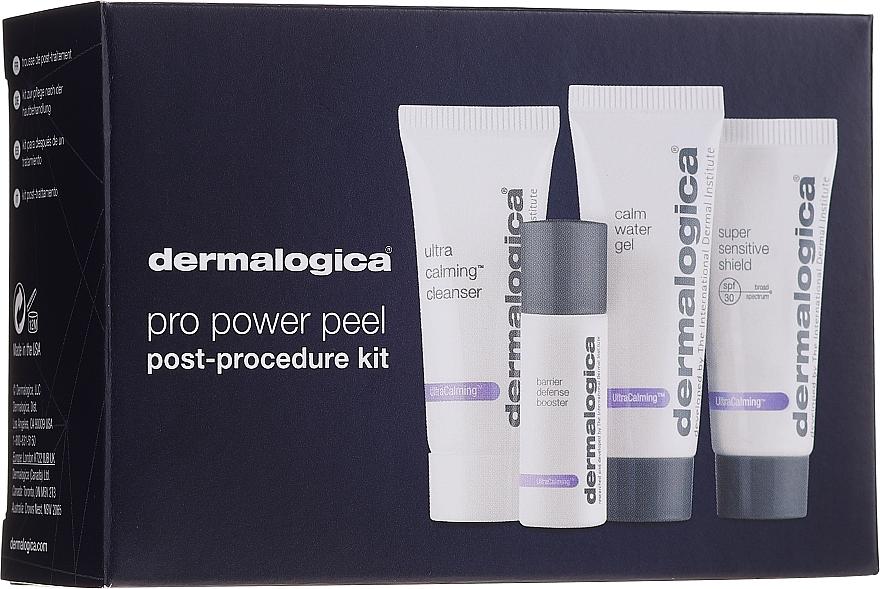 Set pentru îngrijirea tenului sensibil - Dermalogica UltraCalming Skin Kit (gel/7ml + essence/7ml + gel/10ml + ser/5ml) — Imagine N1