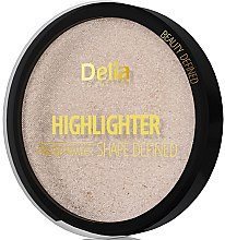 Parfumuri și produse cosmetice Iluminator - Delia Highliter Shape Defined Pressed Powder
