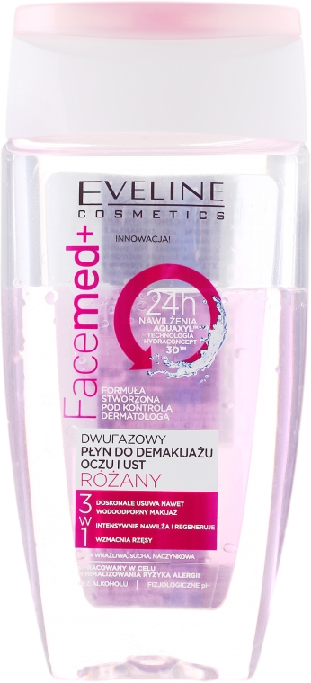 Demachiant Tonic micelar pentru față și ochi - Eveline Cosmetics Facemed+ — Imagine N1