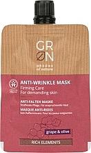 Parfumuri și produse cosmetice Mască de față - GRN Rich Elements Grape & Olive Cream Mask