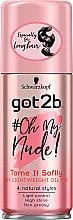Parfumuri și produse cosmetice Spray-ulei pentru păr - Schwarzkopf Got2b Oh My Nude Dry LightWeight Oil Mist