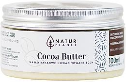 Parfumuri și produse cosmetice Unt de cacao, nerafinat - Natur Planet Cocoa Butter