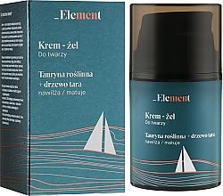 """Parfumuri și produse cosmetice Cremă-gel de față """"Taurine + Tara tree"""" - _Element Men Cream For Face"""