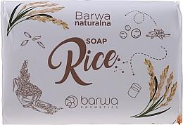 Parfumuri și produse cosmetice Săpun cu extract de orez - Barwa Natural Rice Soap