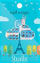 Parfumuri și produse cosmetice Stickere de unghii - Snails Nail Wraps (10buc)