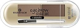 Parfumuri și produse cosmetice Pudră pentru sprâncene - Essence Eyebrow Stylist