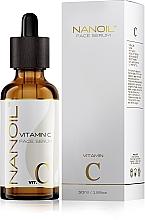 Parfumuri și produse cosmetice Ser facial cu vitamina C - Nanoil Face Serum Vitamin C