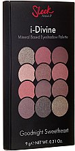 Parfumuri și produse cosmetice Paletă de farduri de ochi - Sleek MakeUP i-Divine Mineral Based Eyeshadow Palette
