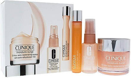 Set - Clinique All About Moisture (f/cr/75ML + spray/30ml + eye/serum/15ml)