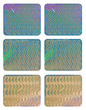 Parfumuri și produse cosmetice Nail Art Stickers, 3705 - Neess Patternness
