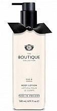 """Parfumuri și produse cosmetice Loțiune de corp """"Oud și coacăză neagră"""" - Grace Cole Boutique Oud & Cassis Body Lotion"""