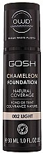 Parfumuri și produse cosmetice Fond de ten - Gosh Chameleon Foundation