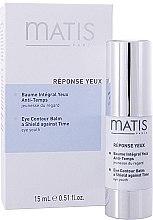 Parfumuri și produse cosmetice Balsam pentru pleoape - Matis Reponse Yeux Eye Contour Balm