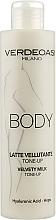 Parfumuri și produse cosmetice Lapte cu efect tonifiant pentru corp - Verdeoasi Velvety Milk Tone-Up