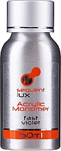 Parfumuri și produse cosmetice Acryl pentru unghii - Silcare Sequent Lux Acrylic Monomer Fast Violet