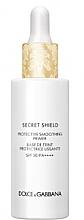 Parfumuri și produse cosmetice Primer protector cu efect de netezire - Dolce & Gabbana Secret Shield Protective Smoothing Primer SPF50 PA++++