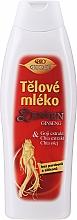 Parfumuri și produse cosmetice Lapte de corp - Bione Cosmetics Ginseng Body Milk