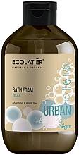 """Parfumuri și produse cosmetice Spumă de baie """"Amarant și ceai alb"""" - Ecolatier Urban Bath Foam"""
