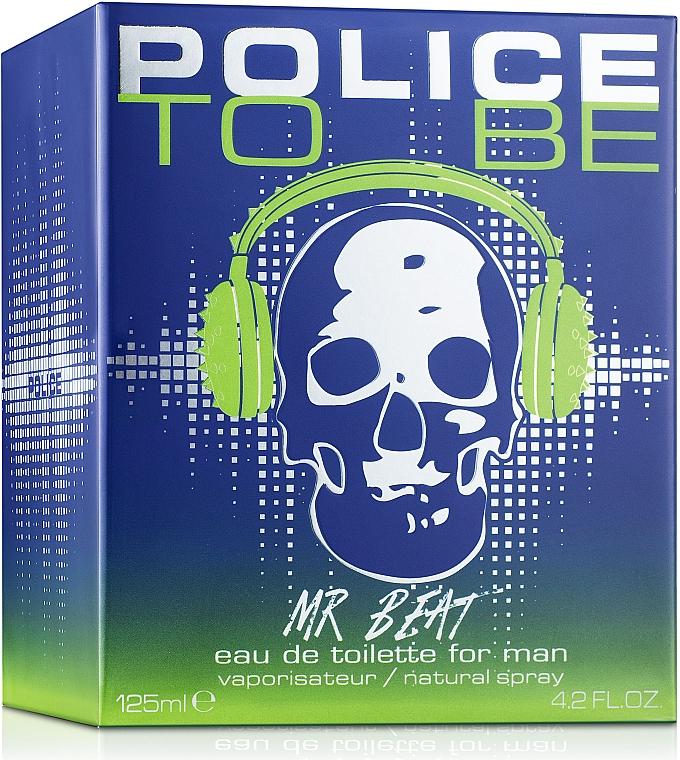 Police To Be Mr Beat - Apa de toaletă