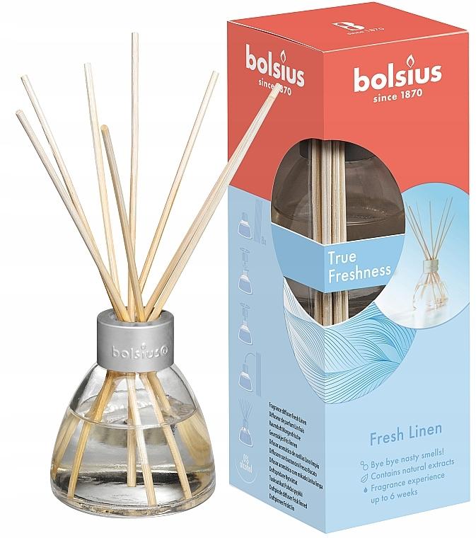 "Difuzor aromatic ""Lenjerie proaspătă"" - Bolsius Fragrance Diffuser True Freshness"