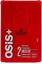 Parfumuri și produse cosmetice Ceară cu efect matifiant pentru păr - Schwarzkopf Professional Osis+ Mess Up Matt Gum