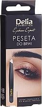 Духи, Парфюмерия, косметика Пинцет для бровей - Delia Cosmetics Eyebrow Expert