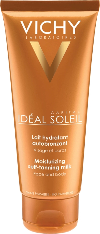 Lăptișor hidratant pentru față și corp - Vichy Ideal Soleil Self Tanner Face and Body Moisturising Milk