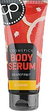 Parfumuri și produse cosmetice Ser cu aromă de grapefruit și ghimbir pentru slăbit - Cosmepick Body Serum Grapefruit