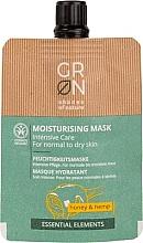 Parfumuri și produse cosmetice Mască de față - GRN Essential Elements Honey & Hemp Cream Mask