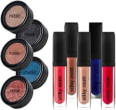Parfumuri și produse cosmetice Paese (lipstick/5x6ml + eyeshadow/5x3g) - Set