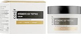 Parfumuri și produse cosmetice Cremă peptidică intensivă anti-îmbătrânire - Coxir Intensive EGF Peptide Cream
