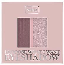Parfumuri și produse cosmetice Fard de ochi - Wibo I Choose What I Want Duo Eyeshadow