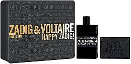 Parfumuri și produse cosmetice Zadig & Voltaire This is Him - Set (edt/100ml + purse)